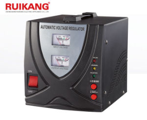 Relay Type 1000va 110V 220V Automatic Voltage Stabilizer pictures & photos
