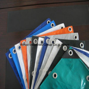 500d to 1500d Hot Selling Fire Resistant PE Tarpaulin From China Factory pictures & photos