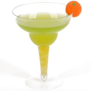 PP/PS Plastic Cup Disposable Tumbler Margarita Glass pictures & photos
