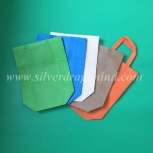 Custom Logo Printed Promotion Reusable Laminated Non Woven Bag pictures & photos