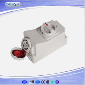 IP67 400V 4pin 16A Industrial Switches Socket pictures & photos