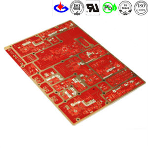 Multilayer PCB Circuit Board with Red Soldermask pictures & photos