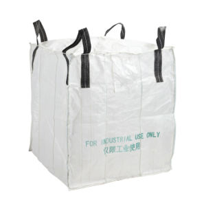 Black Loops FIBC Bulk Bags for Packing Pet Chips pictures & photos