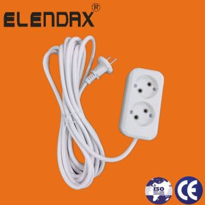 Plug Socket with Cable 1.5m, 3m, 5m (E8002) pictures & photos