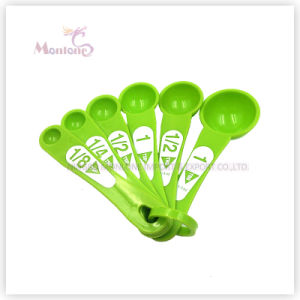 Kitchen Utensils 6pk Colorful Food Grade ABS Measuring Spoon pictures & photos