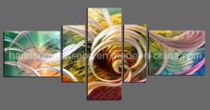Abstract Handmade Metal Wall Hanging Art with 3D Effect (CHB801702) pictures & photos
