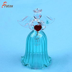 2015 Decoration Angel Shape Glass Lunch Bell pictures & photos