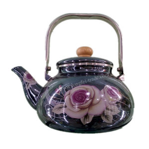 Enamelware, Enamel Teapot, Enamel Kettle, Enamel Steel Teapot pictures & photos