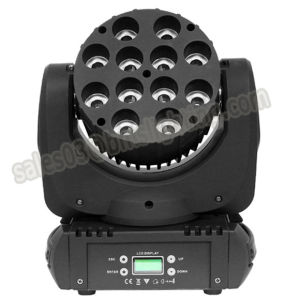 150W 12 PCS RGBW 4in1 CREE LED Beam Light pictures & photos