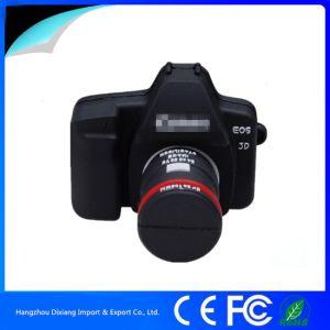 Novelty 3D PVC Camera USB Flash Drive with Custom Logo