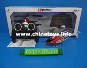 3.5CH Remote Helicopter Plane Toy with Sound and Light (002470) pictures & photos