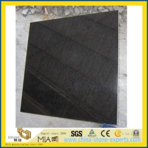 Polished G684 Black Stone Basalt for Paver Tile or Wall pictures & photos
