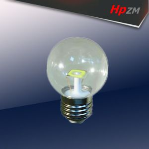 2W Glass SMD G45 LED Filament Bulb pictures & photos
