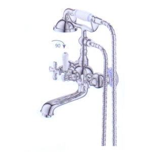Wall-Mounted Kitchen-Shower Mixer (SMXM 1203)