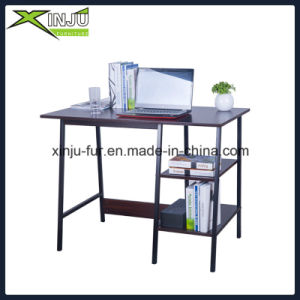 Personal Home Office Computer Table with Metal Leg