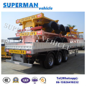 40FT Utilty Container and Cargo Tranport Sidewall Truck Trailer pictures & photos