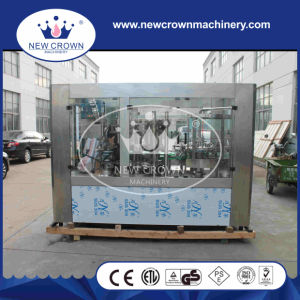 Monoblock 2 in 1 Can Juice Filling Sealing Machine pictures & photos