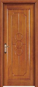 Europe Interior Bedroom Solid Wood Door pictures & photos