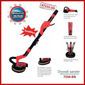 710W 225mm Long Handle Drywall Sander with Sand Glow