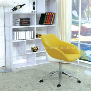 Upholstered Rotary Office Conference Chair with Aluminum Base pictures & photos
