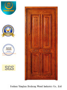 Classic Style Single Security Steel Door (s-1012) pictures & photos