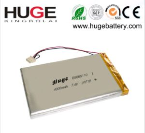 7.4V 4000mAh Li-Polymer Battery with High Quality pictures & photos