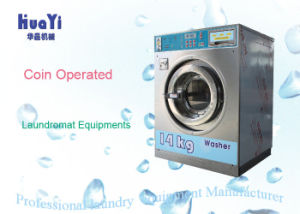Compact Stainless Steel Coin Washing Machine with Coin Slot and Low Noise pictures & photos
