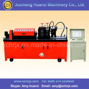 Hydraulic Steel Bar Straightening and Cutting Machine for Round Bar pictures & photos