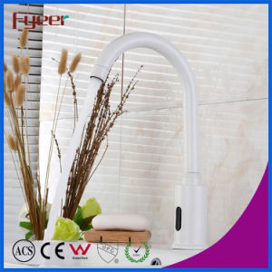 Fyeer New Painted White Automatic Sensor Faucet pictures & photos