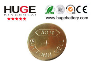 1.5V 10B alkaline button cell battery AG10 pictures & photos
