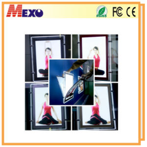 Customized Crystal Acrylic LED Slim Light Boxes for Advertising pictures & photos