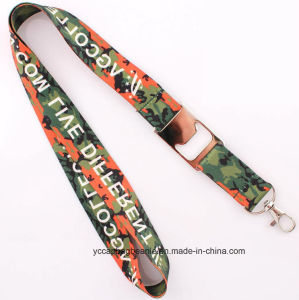 Factory Direct Supply Polyester Sublimation Lanyard pictures & photos
