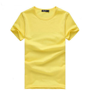 Customize New Fashion (Cotton/Spandex) Men Plain Tees pictures & photos