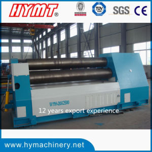 W11H-20X2500 high quanlity Bottom rollers Arc-Adjust plate bending rolling machine pictures & photos