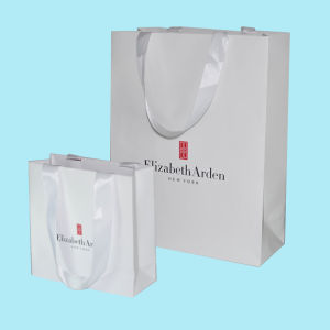 Custom Color Printing Paper Packaging Bag (OEM-PB021) pictures & photos