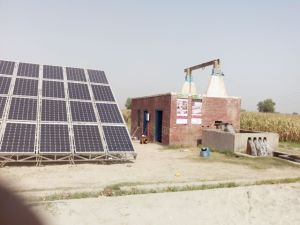 25HP Borehole Solar Powered Water Pumping System