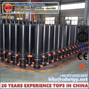 Telescope Hydraulic Cylinder for Tipper Truck Cylinder pictures & photos