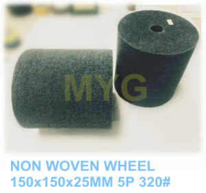 150X150X25mm 5p 320# Non Woven Polishing Wheel pictures & photos