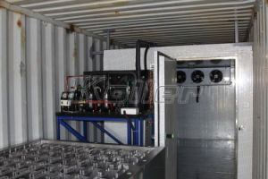3 Tons Containerized Block Ice Maker with Strong Ice for Tropical Area pictures & photos