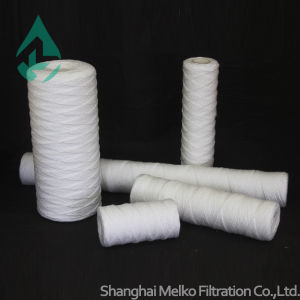 Flow-PRO String Wound Filter Cartridge Polypropylene, Low Cost, Excellent Chemical Resistance, Food Grade for Water, Hight Dirt Holding Capacity pictures & photos