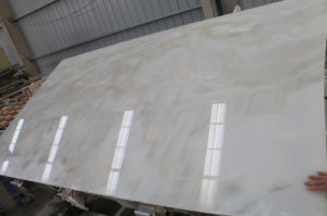 White Onyx Slab for Floor and Wall (White Onyx) pictures & photos