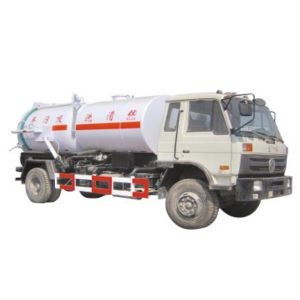 Top 3cbm 5cbm Cleaning Tanker Dongfeng Sewage Suction Truck pictures & photos