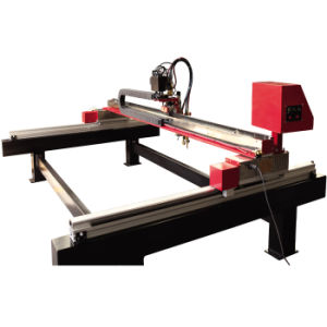 Hnc Mini Gantry Type CNC Cutting Machine for Metal Cutting pictures & photos