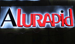 Custom LED Backlit Stainless Steel Signs Channel Letters pictures & photos