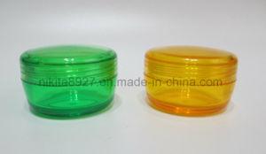 Powder Plastics Jar Cosmetic Packaging 15g (NJ110) pictures & photos