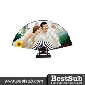Bestsub Decoration Sublimation Printable Foldable Fan (BZS02) pictures & photos