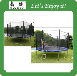 Large Bungee Trampoline for Sale with Foam Pit pictures & photos