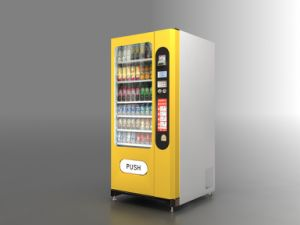 Snack and Drink Combo Vending Machine (LV-205F-A) pictures & photos