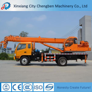 Hot Selling Construction Machine Lifting Equipment Pickup Mobile 8 Ton Truck Crane for Sale pictures & photos