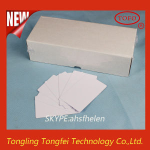 Printable PVC 3 up Inkjet PVC ID Card in China pictures & photos
